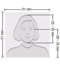 美國簽證照片尺寸要求